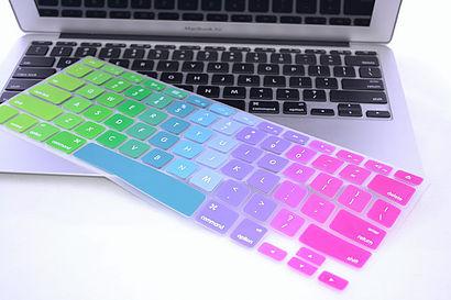 SmartGiraffe MacBook Pro_Air_Retina Rainbow Keyboard Cover